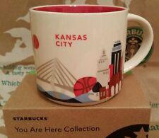 Starbucks Coffee Mug/Tasse/Becher KANSAS CITY  You are Here,NEU m.Sticker i.Box!