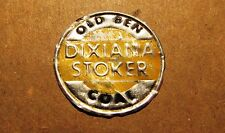 Vintage OLD BEN DIXIANA STOKER COAL Scatter Tag - Coal Advertising Bag Tag