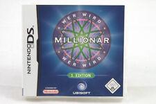 Wer wird Millionär (Nintendo DS/2DS/3DS) NDS Spiel in OVP, PAL, CIB, SEHR GUT