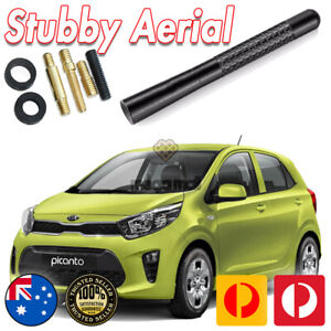 Antenna / Aerial Stubby Bee Sting for KIA Picanto Carbon 12CM