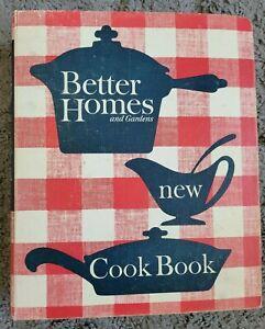 Vintage Better Homes and Gardens New Cookbook VTG 60's Printing Ring Bound