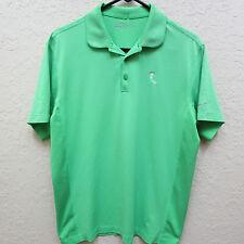 Nike Golf Men's Medium Green Short Sleeve Polo Shirt 1911 Textured