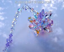 m/w Swarovski Rare Violet Ab Super Star Ornament Suncatcher Lilli Heart Designs