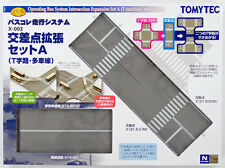 Tomytec X-003 Moving Bus System Intersection Expansion Set A 1/150 N scale