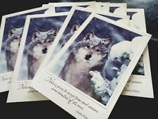 """12 New """"Happy Holiday"""" Greeting Cards"""" With Only 11 Envelopes Snow Fox ?"""