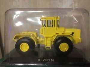 Tractor K-701M Kirovets 1/43 traktor trattore USSR Hachette New