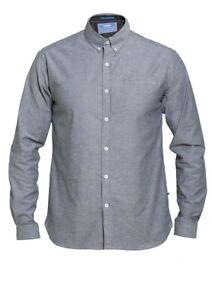 Extra-Langes elastisches Langarm Hemd, in Überlänge, Tall Größe LT-3XLT, 95% BW