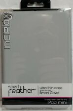 Incipio Smart Feather Ultra Thin Case iPad Mini Gray New In Packaging