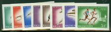 HUNGARY #1787-94, Athletic Events set, Imperf, og, NH,