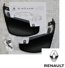 New Genuine Renault Kadjar Front Mudflaps Mudguards Splashguards 8201452072