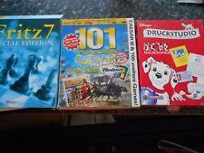 Druckstudio 101 Dalmatiner, 101 PC Spielesammlung Caesar & 100 Games, Fritz 7