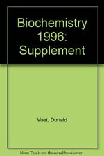Biochemistry: Supplement by Voet, Judith G. Paperback Book The Cheap Fast Free