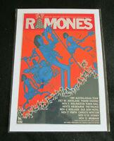 RAMONES : 1989 AUSTALASIAN TOUR : A4 GLOSSY REPO POSTER