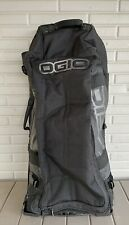 Rolling OGIO Sled Luggage Travel Duffel With Telescoping Handle - Black