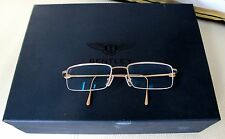 Bentley Motors Ltd. 18K Rose Gold glasses-Germany- Mint condition-Box+papers