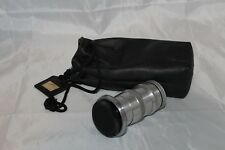 Vtg Carl Zeiss Jena Opton Camera Lens Sonnar 1:4 f=135mm Germany Carry Bag Caps