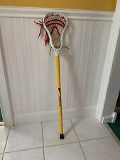 Nike Vandal 7075 Lacrosse Complete Stick Yellow