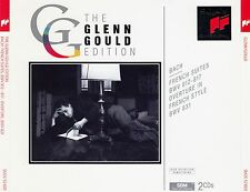 Glenn Gould: Bach-French suite BWV 812-817 - over ture, BWV 831/2 CD-Set