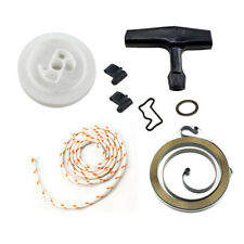 Recoil Rewind Starter Pulley Spring Rope Handle Grip For Stihl 034 036 Chainsaw