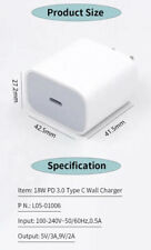 High Quality 18w USB-C Power Adapter Fast Charger For iPhone 11 Pro Max XS