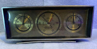 Vintage Desktop Airguide Weather Station Mid Century Modern Made In Chicago Ill.