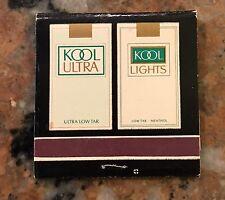 Vintage Kool Cigarette Matchcover Nos