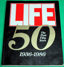 LIFE THE FIRST 50 YEARS 1936-86 SOFTCOVER BOOK, MARILYN MONROE, VERY FINE