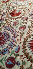Uzbek silk suzani ,original handmade,embroidery,tapestry,tablecloth,bedspread