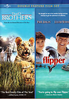 Two Brothers / Flipper (Double Feature) (DVD, 2009, WS) Family & Kids Fun Action
