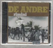 FABRIZIO DE ANDRE' RIMINI CD F.C. SIGILLATO!!!