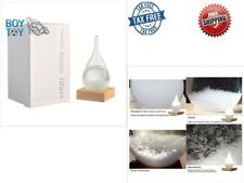 Storm Glass Water Drop Weather Forecast Barometer Crystal Crafts Decor Predictor