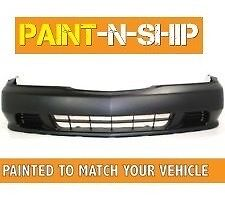 Fits 1999 2000 2001 Acura TL Front Bumper Painted to Match Your Car (AC1000133)