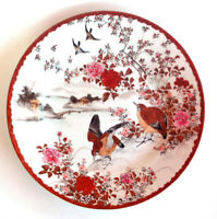 Vintage Chinese Plate Finely Painted Artist Mark Signed Old China with Mark