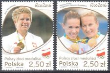 Poland 2016 Polish Gold Medal Winners - Mi.4887-88 - MNH (**)