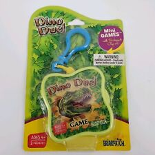 Briarpatch Mini Games Dino Duel, Travel Game, Backpack Clip On