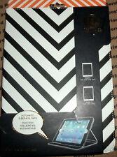 DABNEY LEE ZEBRA BLACK STRIPE DESIGNER PROTECTIVE Folio CASE iPAD AIR 1 & 2~NEW
