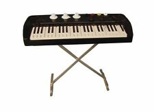 Keyboard with Stand / on Stand Musical Instrument Dollhouse 1:12 Art 9/156