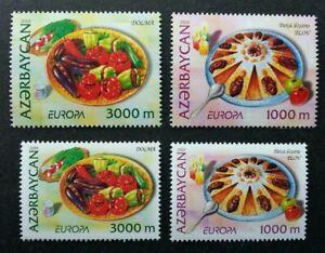 [SJ] Azerbaijan Europa CEPT Gastronomy 2005 Food Delight Cuisine (stamp pair MNH