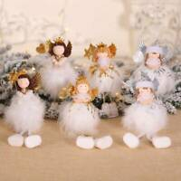 Christmas Gift Xmas Tree Hanging Pendant Angel Doll Ornament Home Table Decor