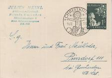 Christkindl 14.12.1953 auf Julius Meinl Karte