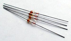 Germanium point contact diodes, same as OA81, 1N60A and 1N34, matched set of 4