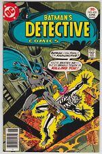 Detective Comics #470 VF+ 8.5 Batman Dr Phosphorous!