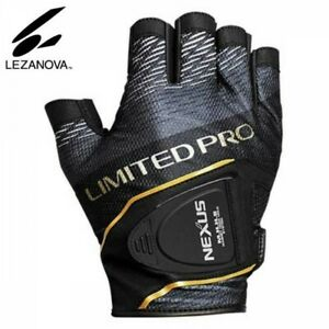 SHIMANO GL-142S Fishing Glove 5 NEXUS LEZANOVA LIMITED PRO Black Japan Tracking