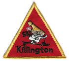 "1970'S KILLINGTON MOUNTAIN RESORT VERMONT 3.5"" SKIING VINTAGE SOUVENIR PATCH"