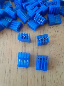 100 AMP 640442-4 * Wire-To-Board Connector * MTA 100 SERIES *IDC/IDT* 4 CONTACTS