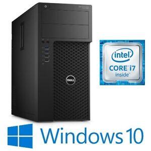 Dell Precision T3620 Tower i7 6700 16G/32G SSD Intel HD/Quadro P600 Win 10 Pro