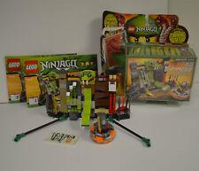 LEGO Ninjago Spinjitzu Spinners Kendo Kai Training Set #9558 Complete retired