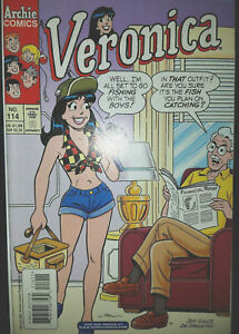 """VERONICA #114 (2001, Archie Comics) """"Trouble By the Yard"""" Daisy Dukes Cover, NM"""
