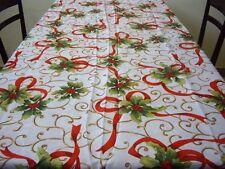 Tovaglia di Natale 140x180 cm tovaglia Natalizia rettangolare Tavolo Antimacchia