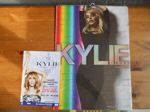 Kylie Minogue 2011 Calendar with Aphrodite Tour Flyer